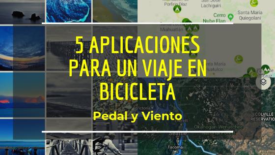 5 aplicaciones para un viaje en bicicleta