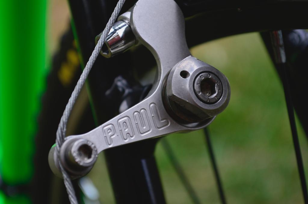 La estética de los frenos cantilever resalta detalles en las bicicletas que algunos coleccionistas buscan resaltar.
