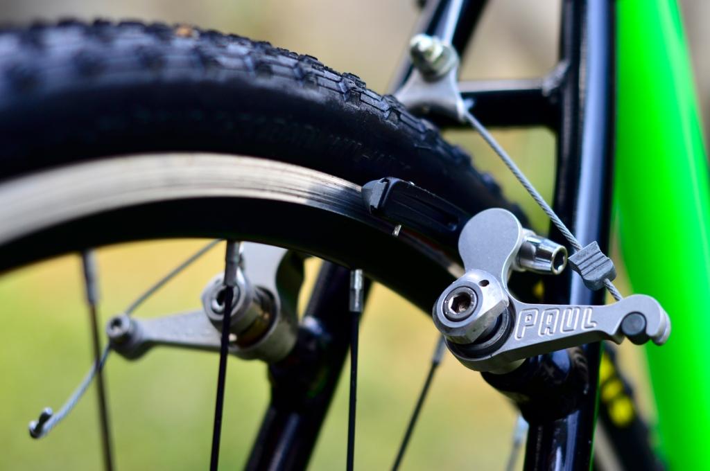 Frenos Cantilever Paul Components usados para cyclocross.