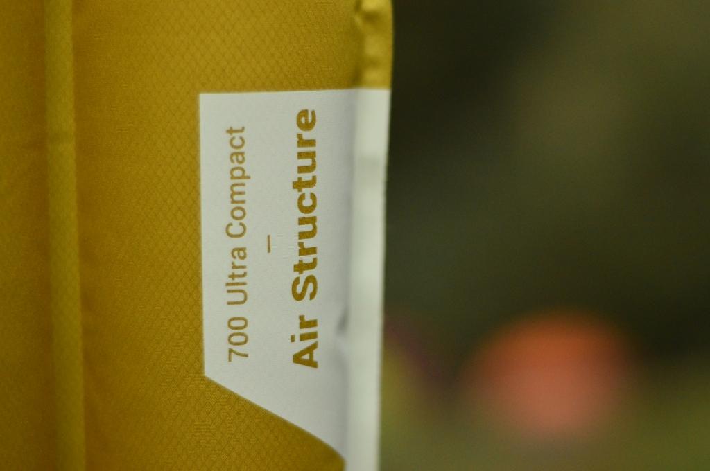 Reseña del colchón inflable 700 Ultra Compact Air